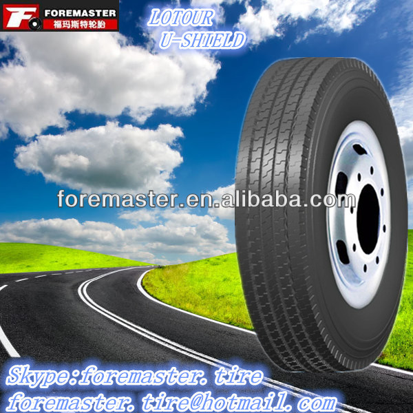 225/75R17.5 truck tires 11r24.5 with price U-SHIELD Brand