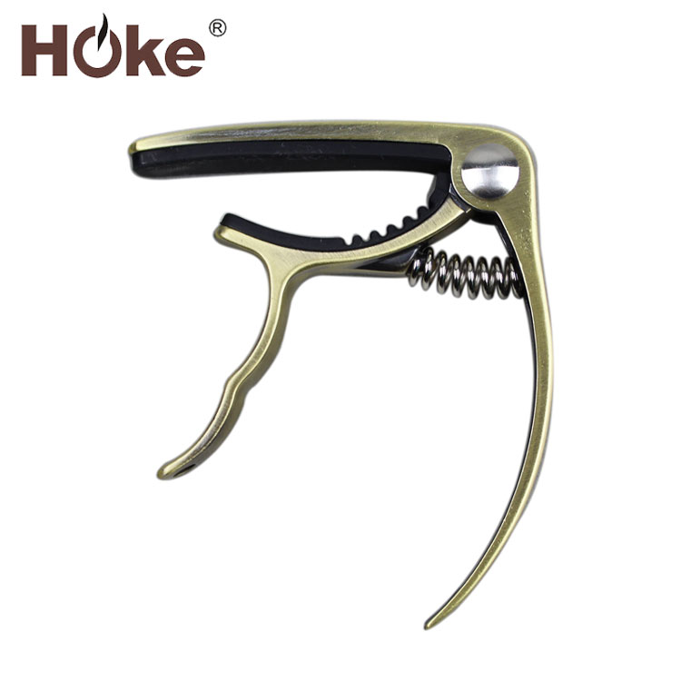 Wholesale High End Classical Color Silver Electric Acoustic Guitar Capo Tuners