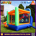High quality inflatable castle with slide for kids