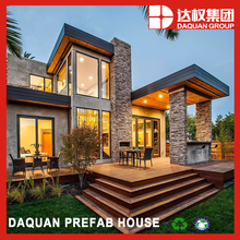 2016 Daquan eps sandwich panel wall for flat top roof prefabricated house