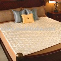 100% Polyester cover mattress pad