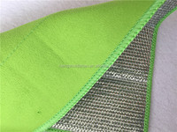 kitchen cleaning stainless steel wire microfiber cloth for dish washing microfiber towel
