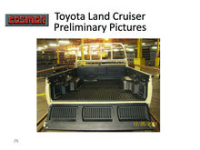 Toyota accessories pick up liner