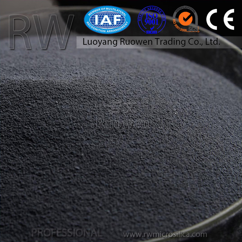 Industry grade high quality porous concrete permeable base materials silica fume for sale