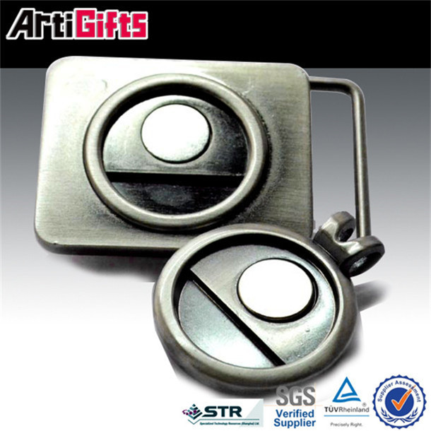 cheap wholesale metal changeable buckles custom belt