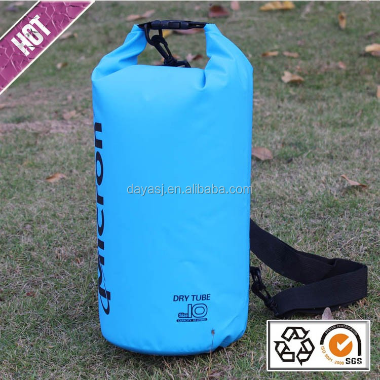 Outdoor riding pvc 500D waterproof dry bag factory for swimming camping