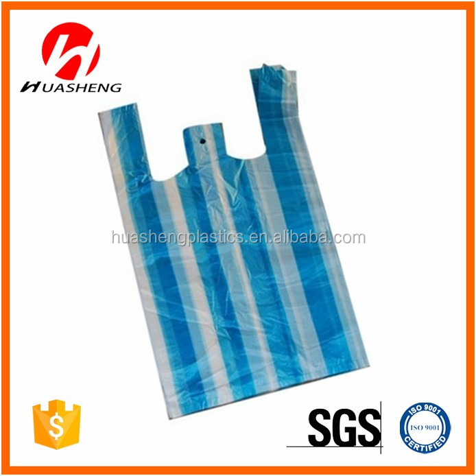 Factory price customized PE plastic shopping bag