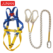 Quality assurance polyester fall protection <strong>safety</strong> protector fall arrest with alloy steel D -ring