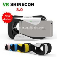 Hot sale online shopping sex video cardboard 3d vr glasses