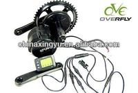 8FUN/Bafang Crank/Mid motor 48v750w mid/central drive electric bicycles conversion kit