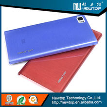 flip leather mobile phone case for lenovo s820