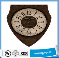 Wholesale Custom Removable Vinyl Decorative Wall Clock Sticker For Room
