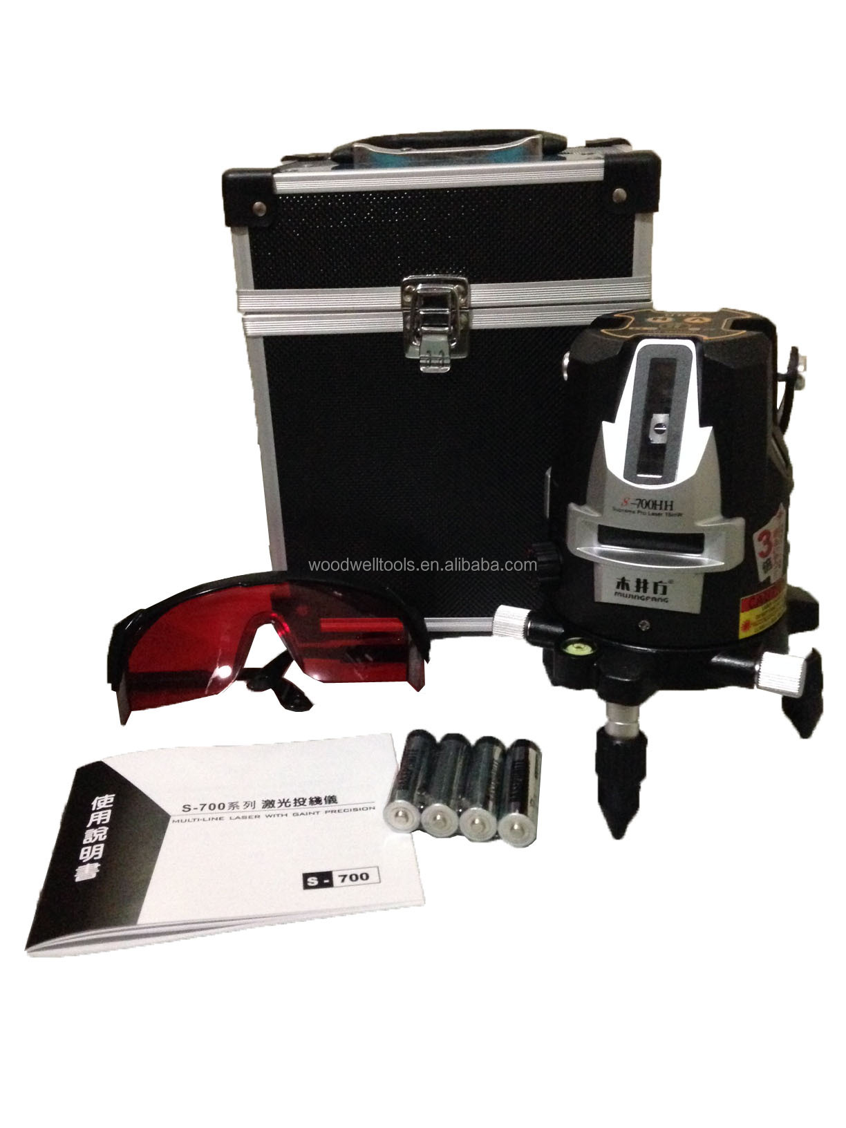 2014 New Model ,4V3H1D, professional laser level S-700HH