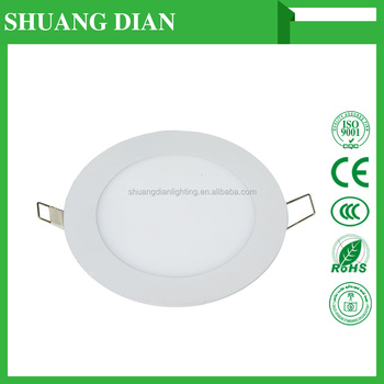Shuangdian lighting LED panel lights MBAY 12W round 30000H Wholesale Cheap 85V 265V SMD 2835 3000K 6500K