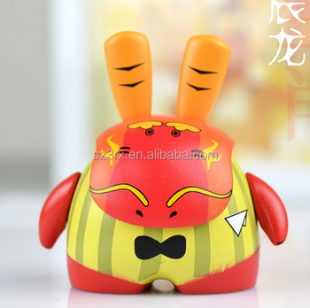Personalized 12 signs of the Chinese zodiac vinyl figures factory/Custom Chinese figures toy collection/Custom Plastic toys