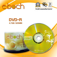 High Quality Blank DVD, Blank DVD-R DVD Disc in Shrink Wrap with Factory Direct Price