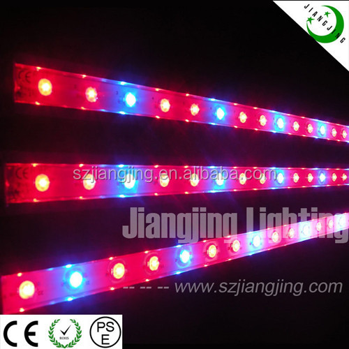 High Efficiency 4ft IP68 36W aquaponics growing beds LED Grow Light