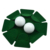 Golf Putting Flocking Cup All-Direction Putting Hole Cup Golf Practice Hole Training Aids