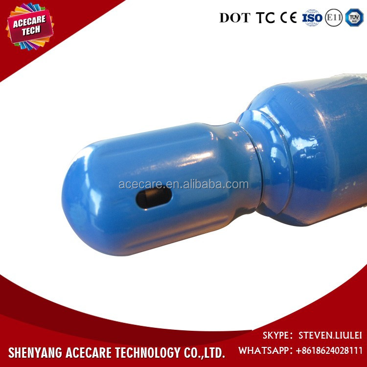 10L steel oxygen cylinder, Factory hot sale High Pressure Seamless Steel empty gas cylinder sizes made in china