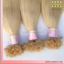 Qingdao Hair Factory 1g/Strand U Tip Kertain Hair Extension