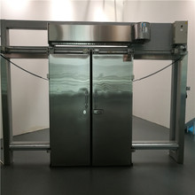 2017 Chinese suppliers Cheaper Automatic Price Automatic Cold Storage Freezer Room Sliding Door for Food and Drug Factory