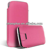 PU wallet case for htc