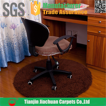 100% polyester shaggy table and chair protection mat