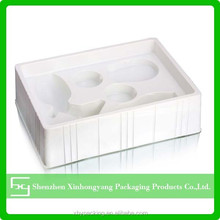 Professional large plastic compartment trays electronic components packing tray, plastic holder tray