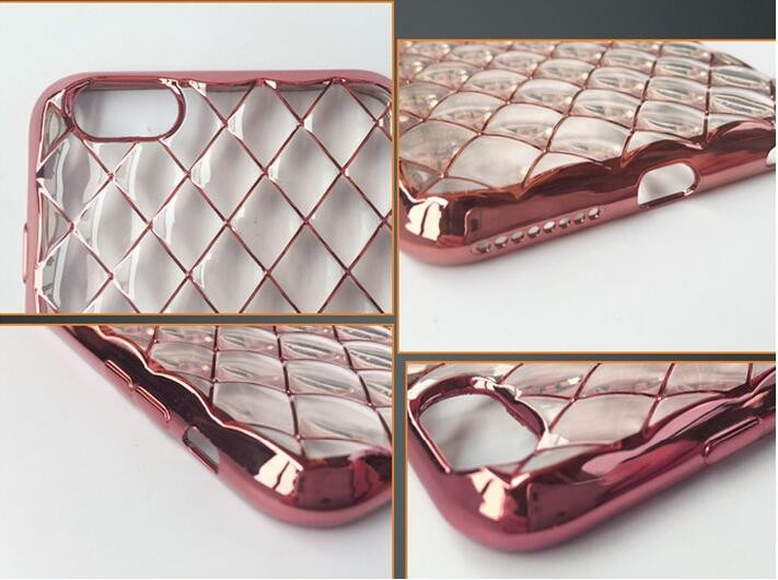 Hot sale cell phone mobile luxury color electroplating tpu case For Samsung Galaxy