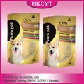 Custom Printed Flat Bottom Side Gusset Stand up Pouch/Plastic Dog Pet Food Packaging Bag with Zipper