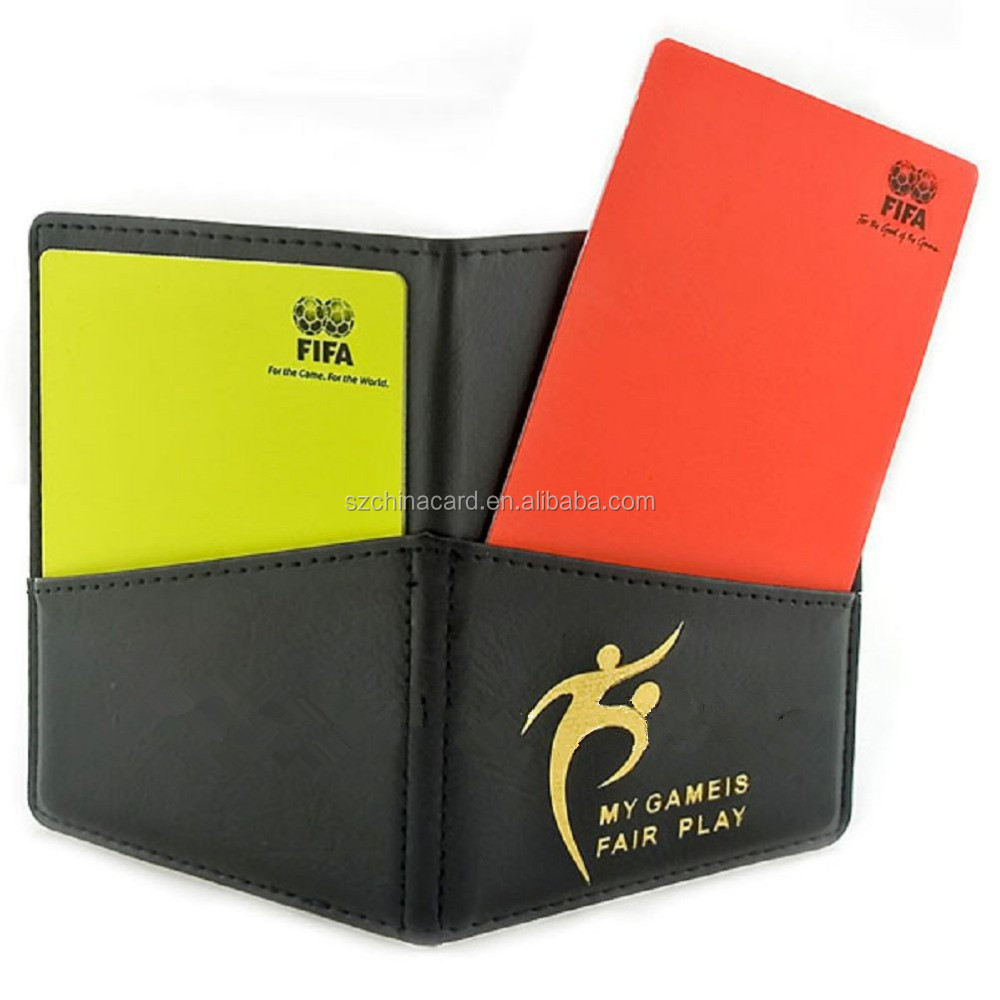 Hot sell high quality manufacturer referee cards