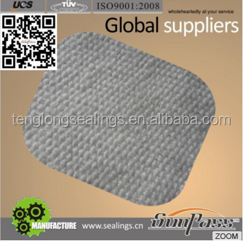 Ceramic fiber product Coated Aluminium Foil fiber cloth
