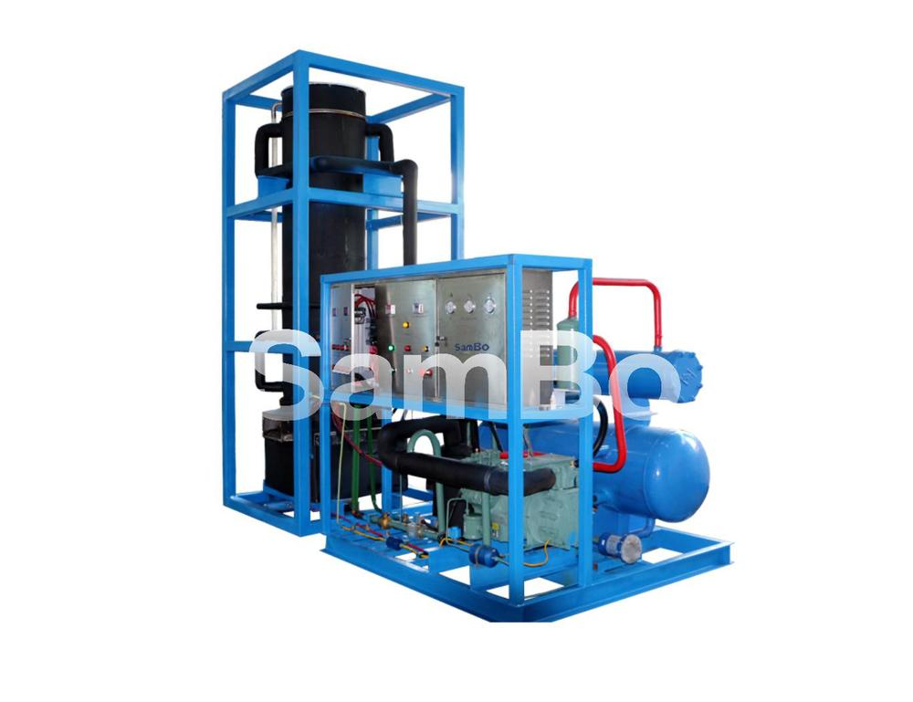 Trading and Supplier 8T Tube Ice Machine Evaporator/Drum For Cold Storage