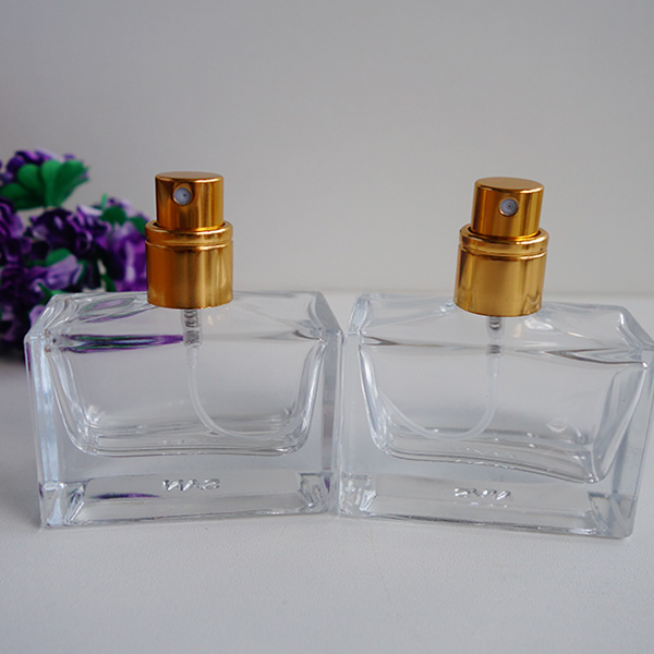 30ml Crystal clear perfume glass bottle wholesale