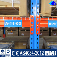 Storage Pallet Rack Structural Steel Beam Load Tables