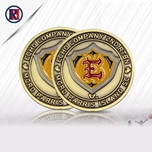 Zhongshan wholesale cheap double coin custom double-sided eagle coin