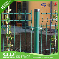 Iron Wire Mesh Fencing / 3D Crimped Mesh Fencing / 3D Curved Welded Fence