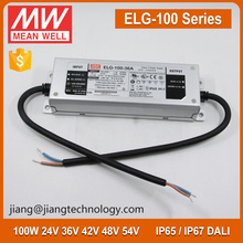 Meanwell Dimmable LED Driver 100W 54V ELG-100-54B IP67 LED Power Supply