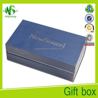 New sound creative paper packaging box for hearing aid set