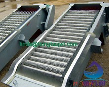Stainless steel automatic fine bar screen