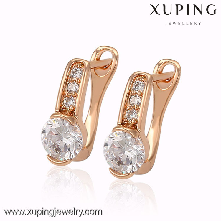 2016 Elegant fashion xuping jewelry, fancy earrings for party girls