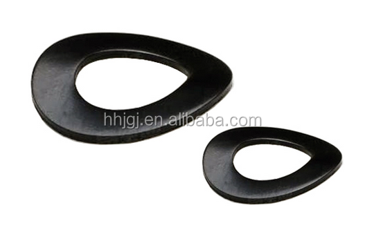 Forged Wave Shaped Spring Steel Washers For Milking Machine DIN137A/DIN137B Wholesale Black Wave Spring Washer Low <strong>Price</strong>
