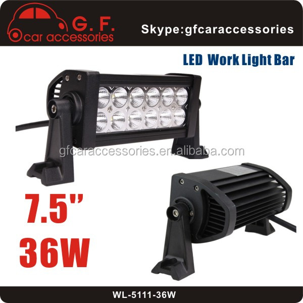 Wholesale Offroad Truck Mining 4WD 36W Dual Row LED Work Light Bar