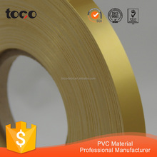 foshan brass strips golden plastic edge trim decorative brass furniture strip