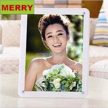 Classic style colorful cheap wedding acrylic picture frame