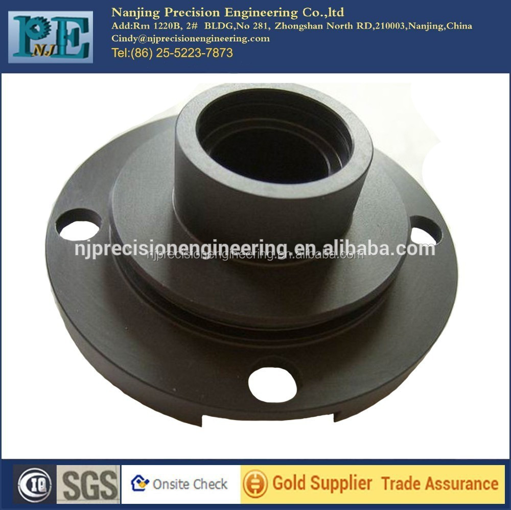 Carbon steel casting shaft protecting sleeve