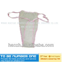 disposable lingerie/brief/underwear..disposable nonwoven underwear..disposable protective underwear