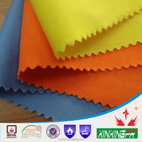 Yarn FR fabric 93% meta aramid 5% para aramid 2% antistatic 150gsm inherently flame retardant fabric for firefighter clothing