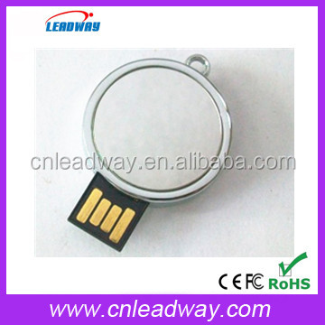 Round Coin plastic usb flash drive shenzhen factory colorful secure usb storage for Christmas bulk 32Gb usb flash drive