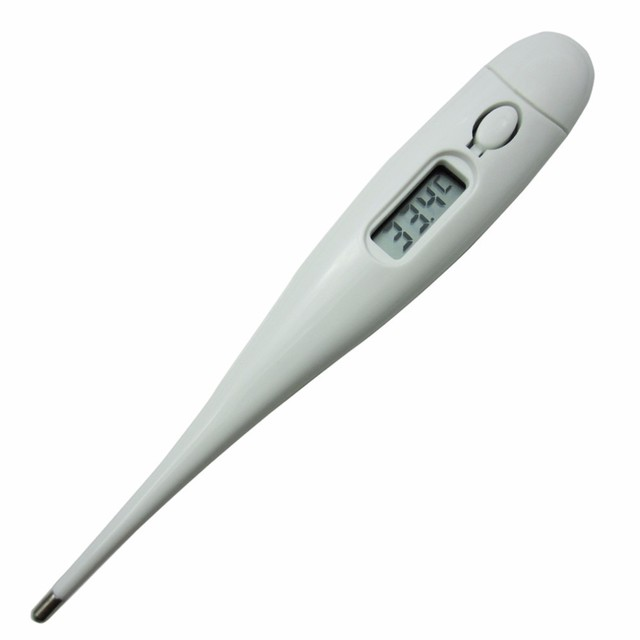 1pcs Baby Child Adult Body Digital LCD Heating Thermometer Temperature Measurement